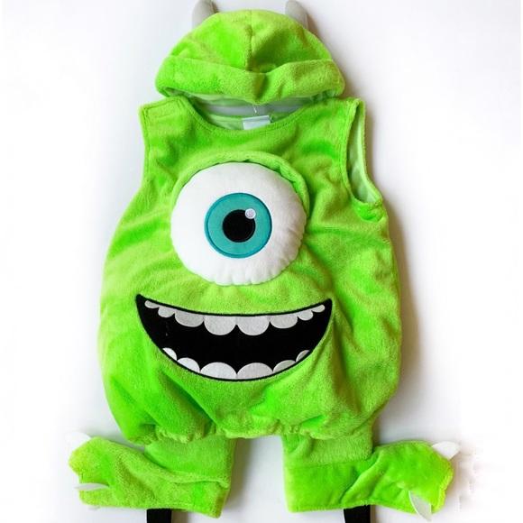 Disney Costumes Monster Inc Mike Wazowski Infant Costume Poshmark